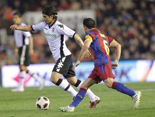 02.03.2011: Valencia CF 0 - 1 FC Barcelona