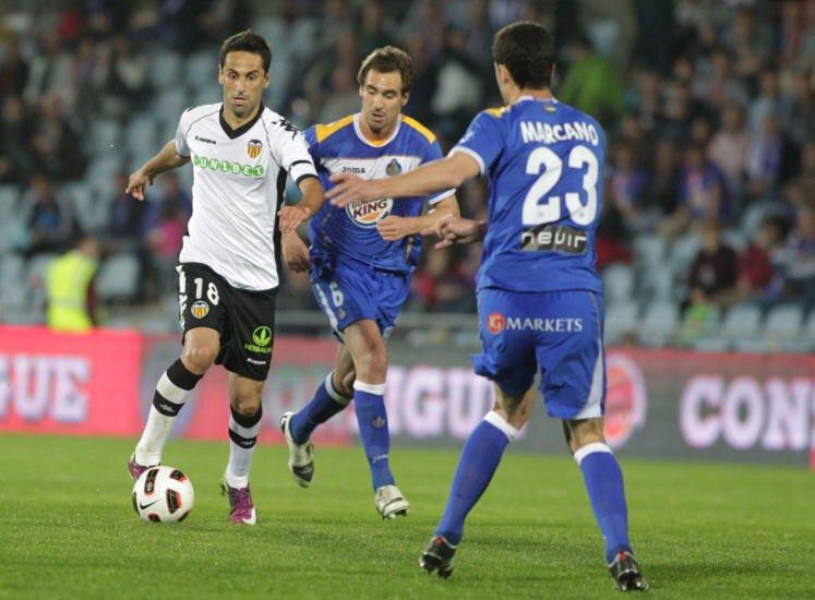 02.04.2011: Getafe CF 2 - 4 Valencia CF