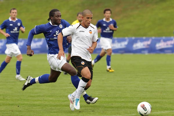 23.07.2011: Leicester City 0 - 1 Valencia CF