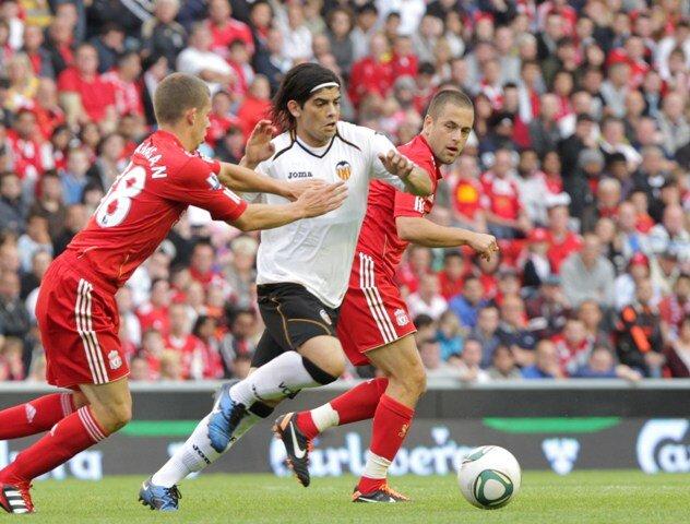 06.08.2011: Liverpool FC 2 - 0 Valencia CF
