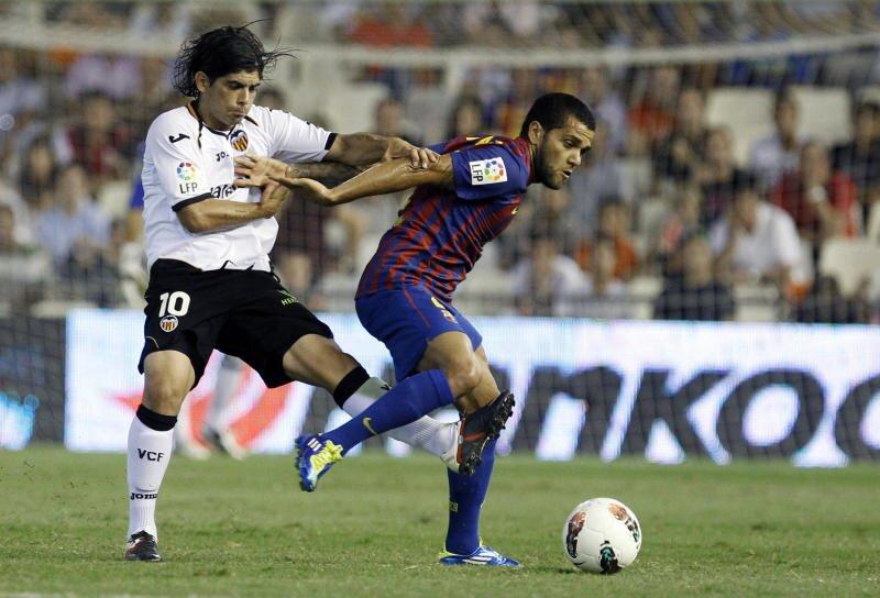 21.09.2011: Valencia CF 2 - 2 FC Barcelona