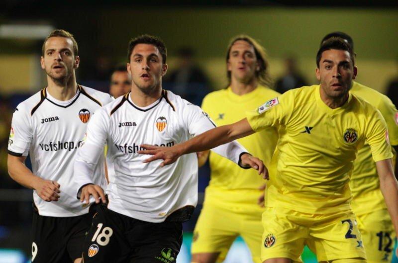 08.01.2012: Villarreal CF 2 - 2 Valencia CF