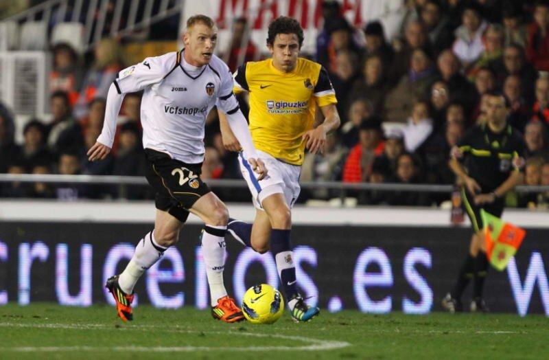 14.01.2012: Valencia CF 0 - 1 Real Sociedad