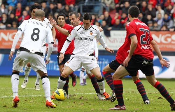 22.01.2012: CA Osasuna 1 - 1 Valencia CF