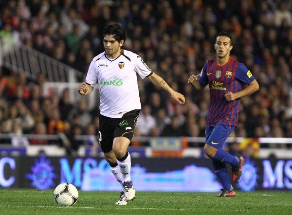 01.02.2012: Valencia CF 1 - 1 FC Barcelona