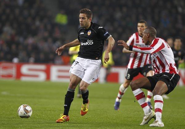 15.03.2012: PSV Eindhoven 1 - 1 Valencia CF