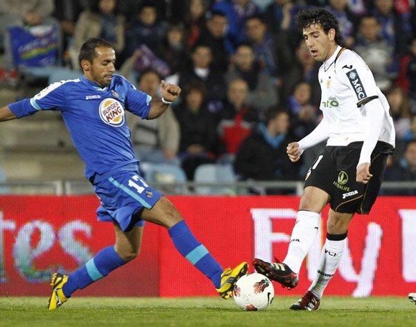 24.03.2012: Getafe CF 3 - 1 Valencia CF