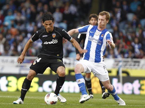 12.05.2012: Real Sociedad 1 - 0 Valencia CF