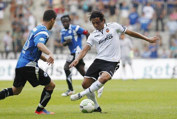 25.07.2012: Arminia B. 1 - 1 Valencia CF