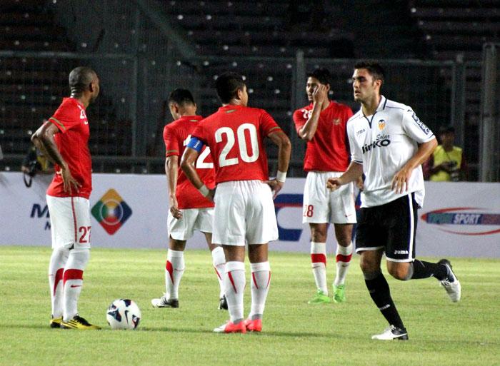 04.08.2012: Indonesia 0 - 5 Valencia CF