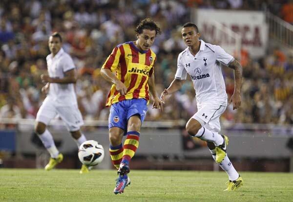 09.08.2012: Valencia CF 2 - 0 Tottenham