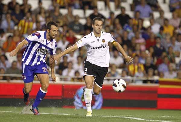 26.08.2012: Valencia CF 3 - 3 Dep. Coruña