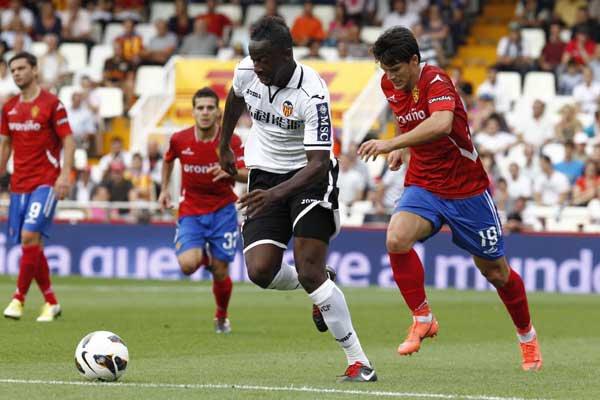 29.09.2012: Valencia CF 2 - 0 Real Zaragoza