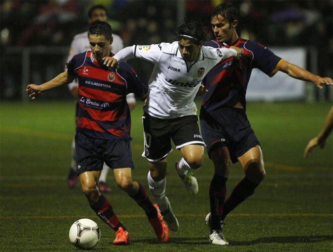 30.10.2012: UE Llagostera 0 - 2 Valencia CF