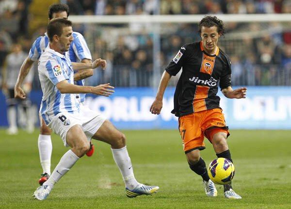 24.11.2012: Málaga CF 4 - 0 Valencia CF