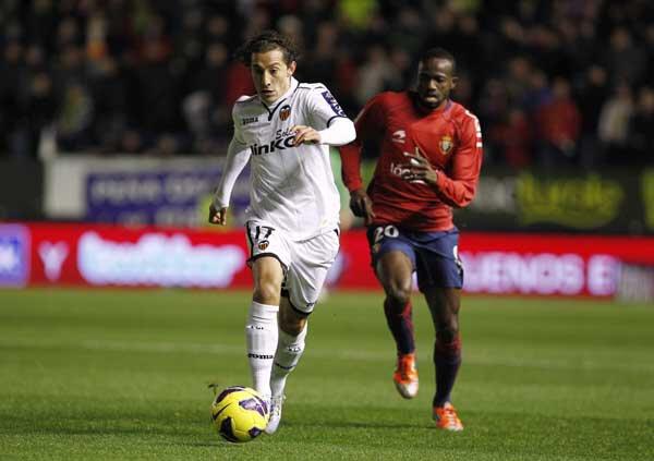 08.12.2012: CA Osasuna 0 - 1 Valencia CF