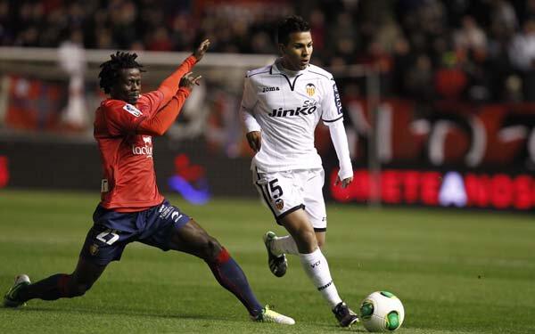 11.12.2012: CA Osasuna 0 - 2 Valencia CF