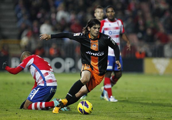 05.01.2013: Granada CF 1 - 2 Valencia CF