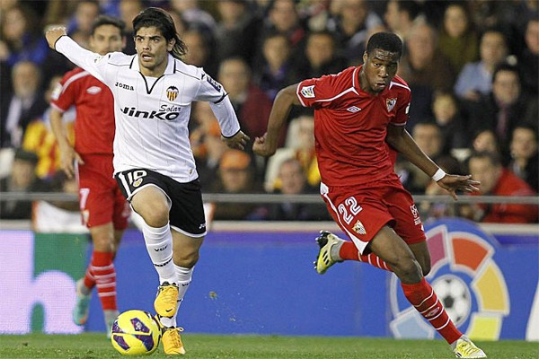 12.01.2013: Valencia CF 2 - 0 Sevilla FC
