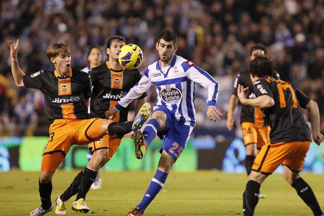 26.01.2013: Dep. Coruña 2 - 3 Valencia CF