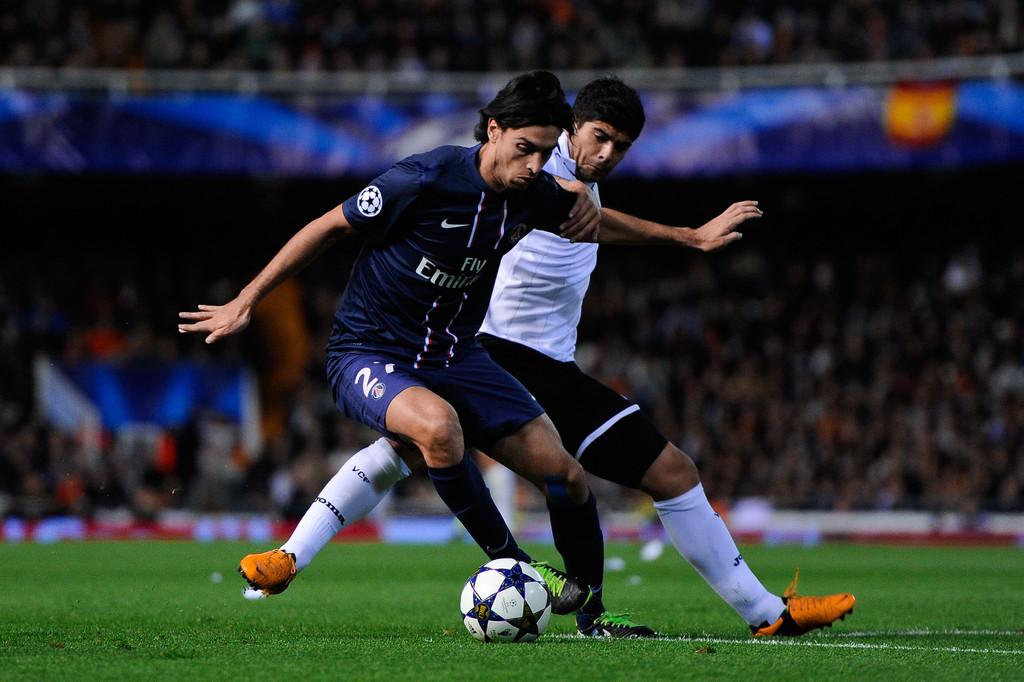 12.02.2013: Valencia CF 1 - 2 Paris SG