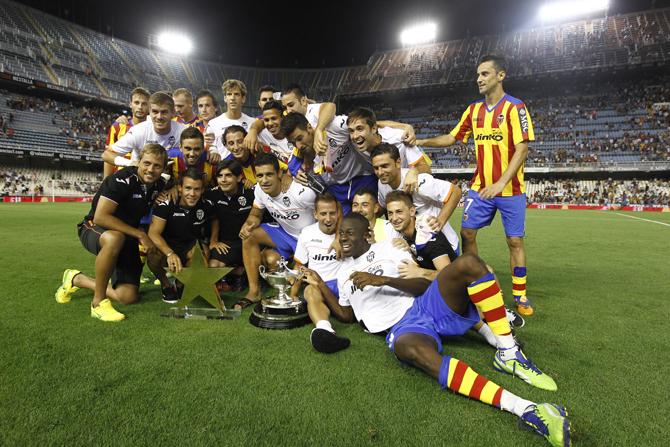 10.08.2013: Valencia CF 2 - 1 Olympiakos