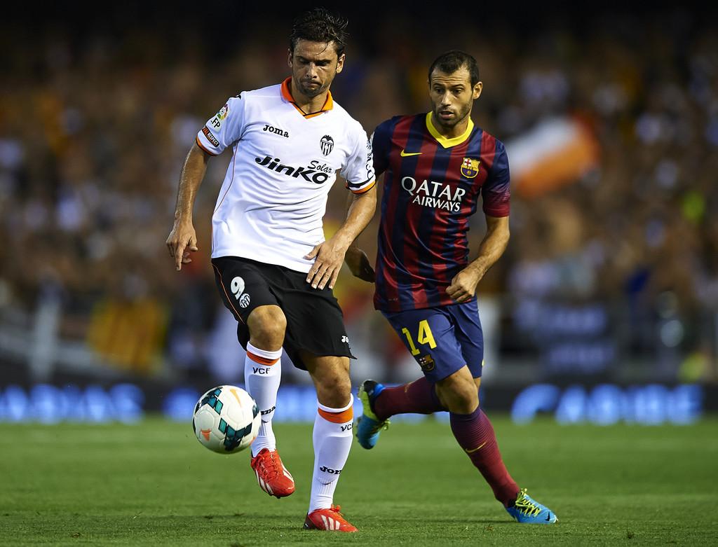 01.09.2013: Valencia CF 2 - 3 FC Barcelona