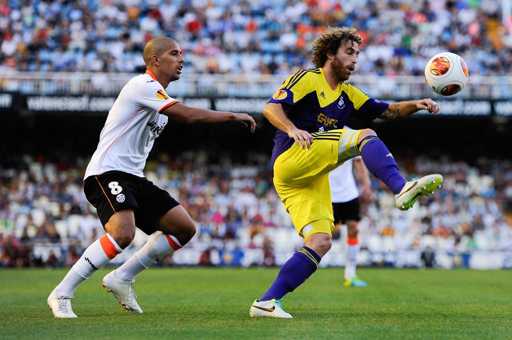 19.09.2013: Valencia CF 0 - 3 Swansea City