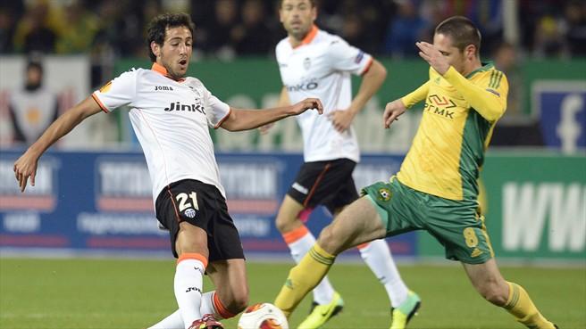 03.10.2013: K. Krasnodar 0 - 2 Valencia CF