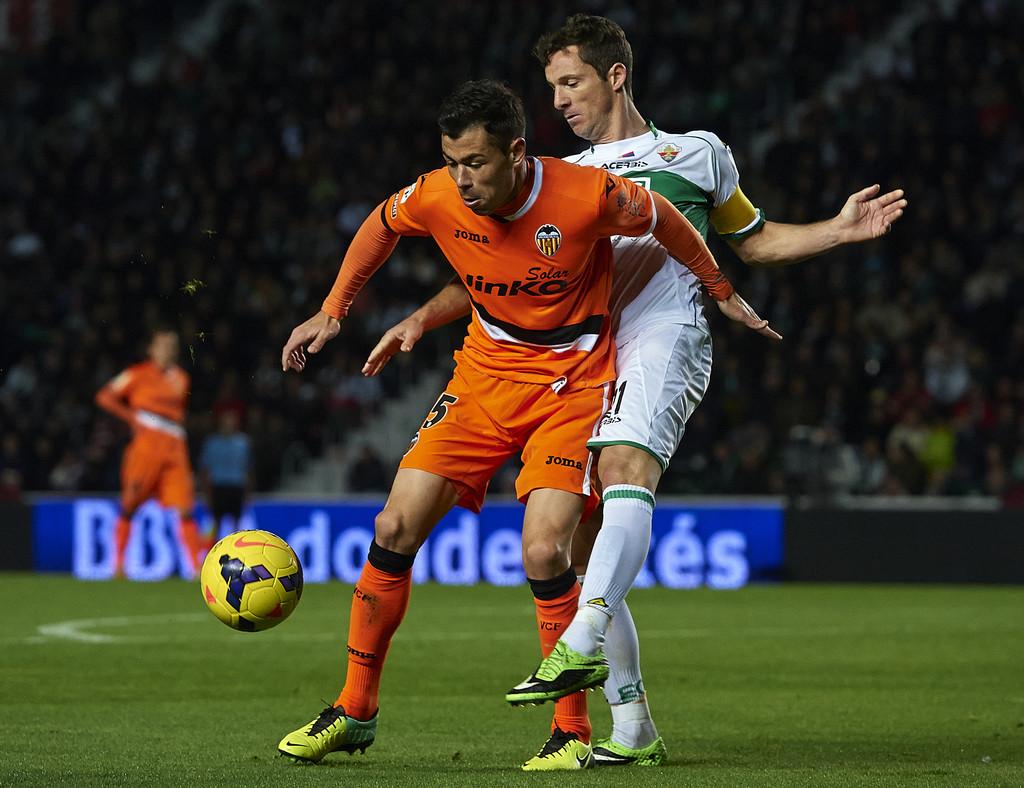 24.11.2013: Elche CF 2 - 1 Valencia CF