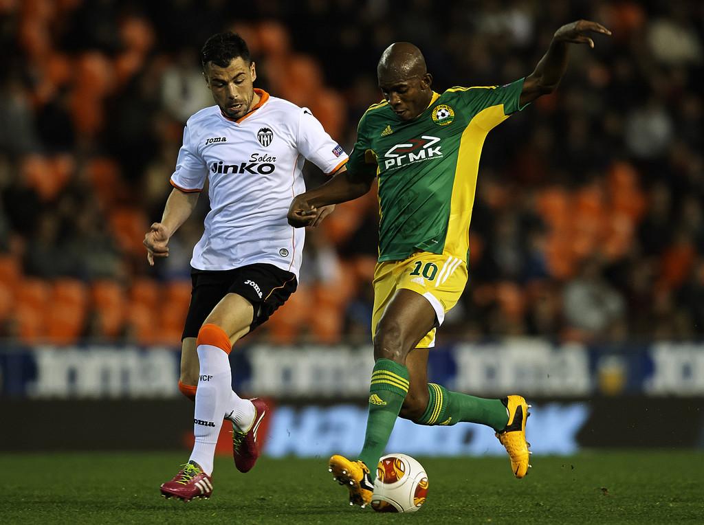 12.12.2013: Valencia CF 1 - 1 K. Krasnodar