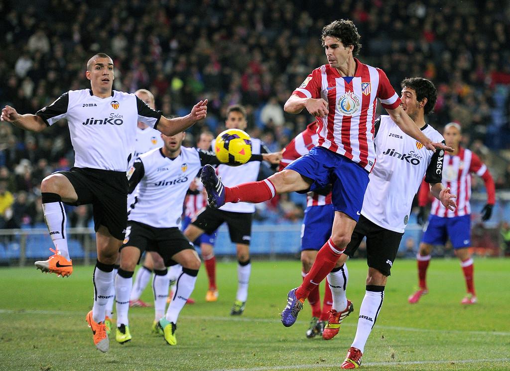 15.12.2013: At. Madrid 3 - 0 Valencia CF