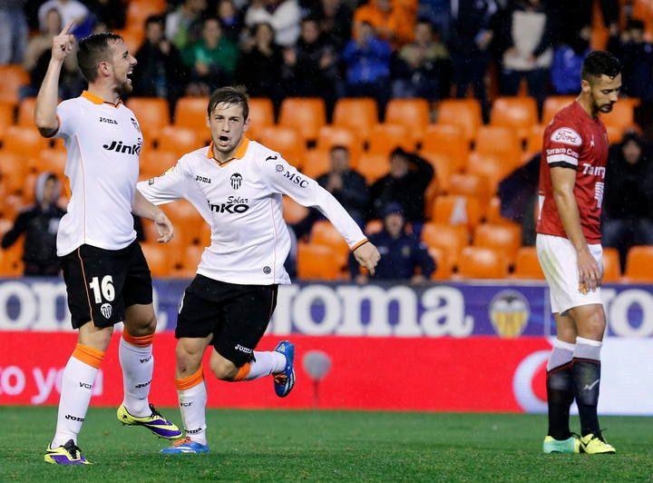 19.12.2013: Valencia CF 1 - 0 Gim. Tarragona