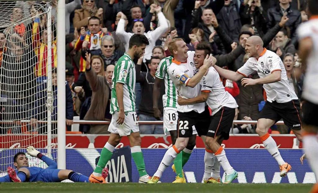 08.02.2014: Valencia CF 5 - 0 Real Betis