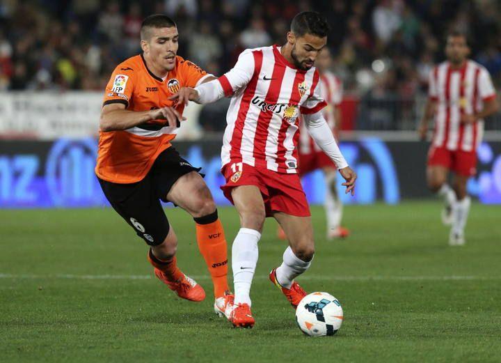 27.03.2014: UD Almería 2 - 2 Valencia CF