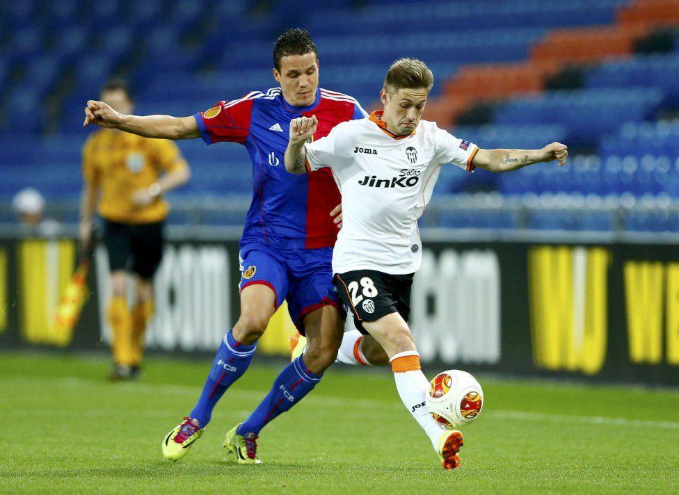 03.04.2014: FC Basel 3 - 0 Valencia CF