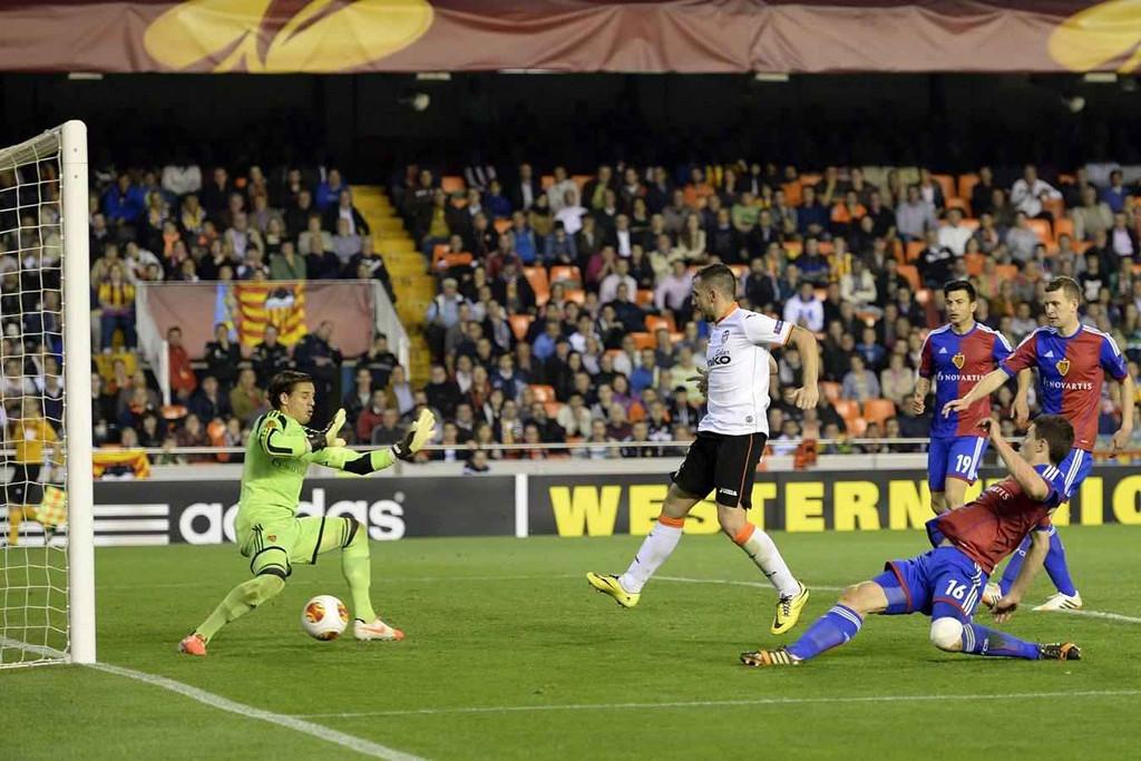10.04.2014: Valencia CF 5 - 0 FC Basel
