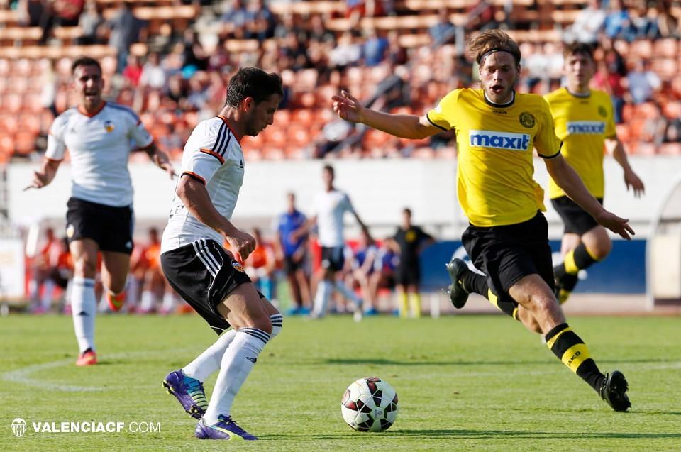 15.07.2014: SV Bayreuth 1 - 5 Valencia CF