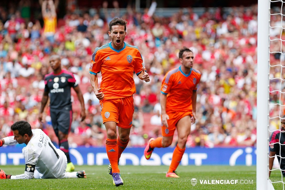 03.08.2014: SL Benfica 1 - 3 Valencia CF