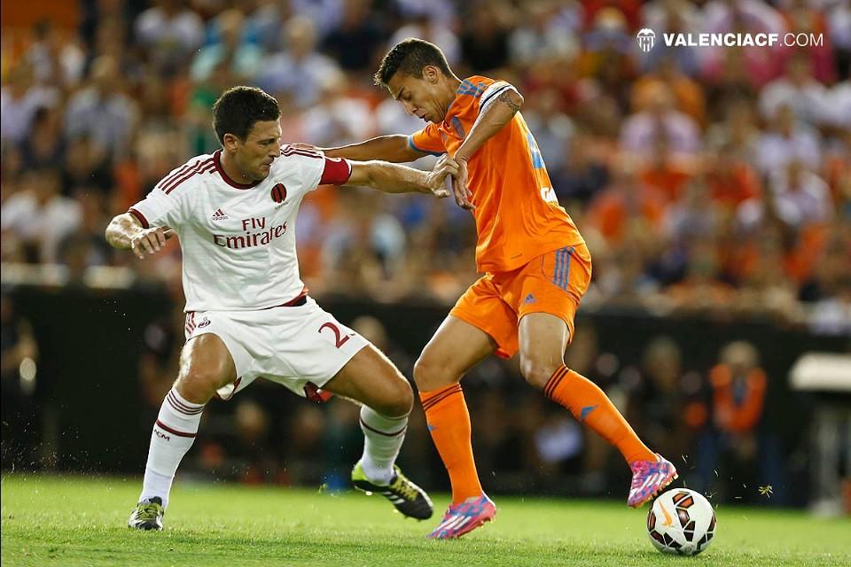 17.08.2014: Valencia CF 2 - 1 AC Milan