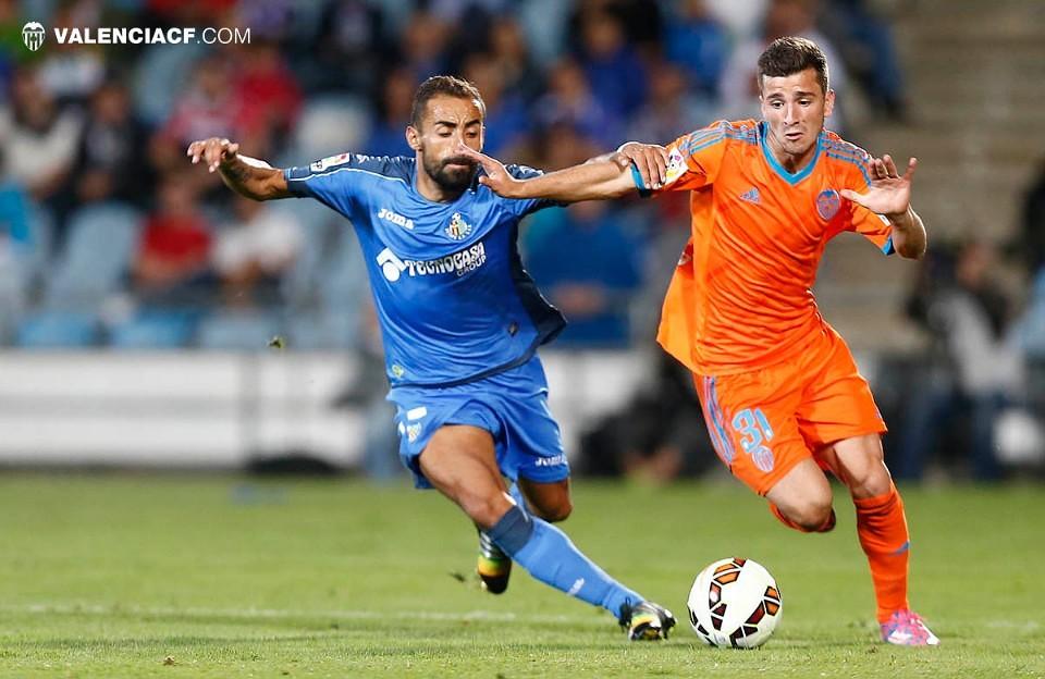 22.09.2014: Getafe CF 0 - 3 Valencia CF