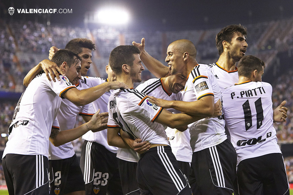 25.09.2014: Valencia CF 3 - 0 Córdoba CF