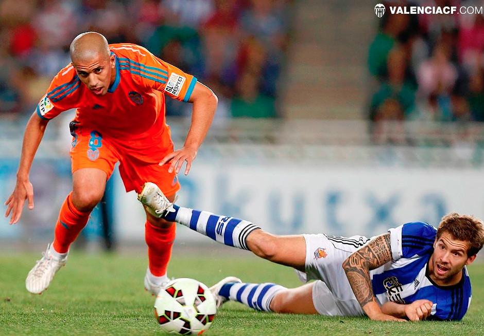 28.09.2014: Real Sociedad 1 - 1 Valencia CF