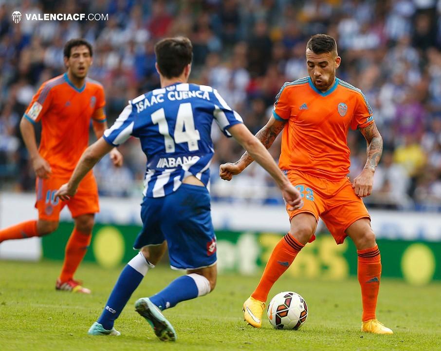 19.10.2014: Dep. Coruña 3 - 0 Valencia CF