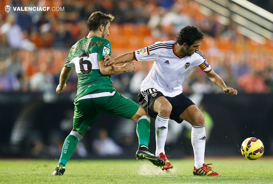 25.10.2014: Valencia CF 3 - 1 Elche CF