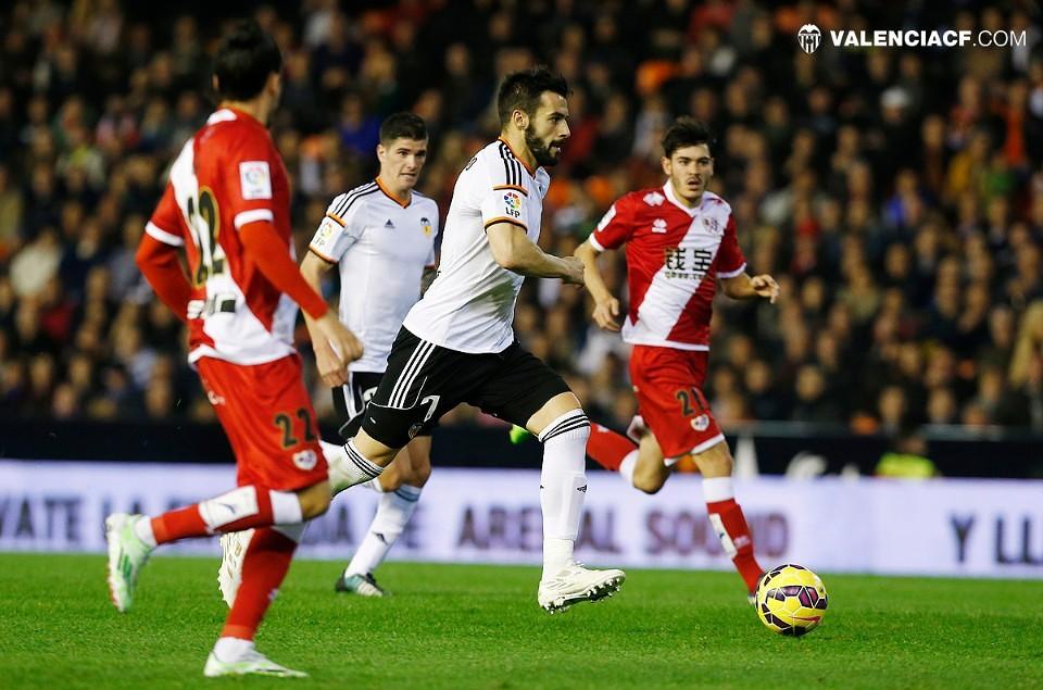 13.12.2014: Valencia CF 3 - 0 Rayo Vallecano