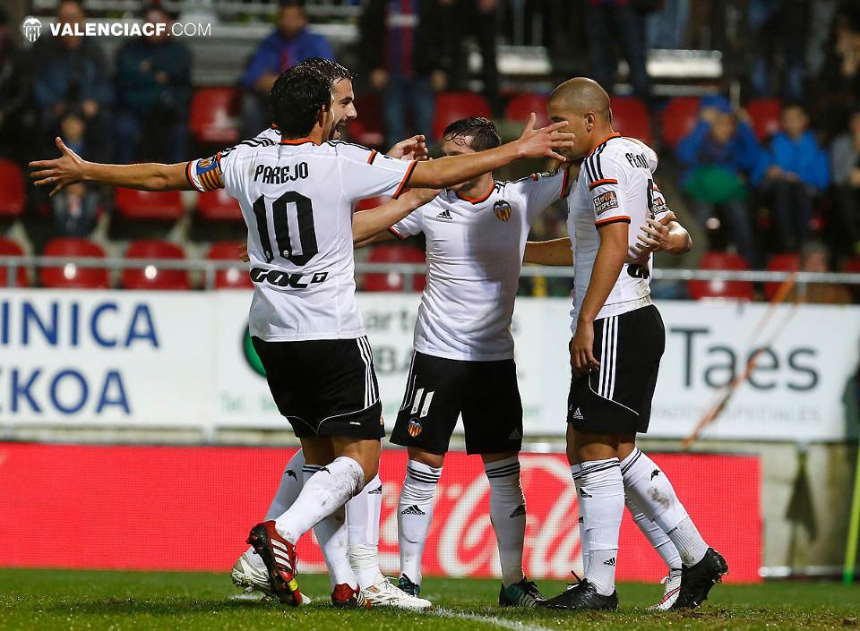 20.12.2014: SD Eibar 0 - 1 Valencia CF