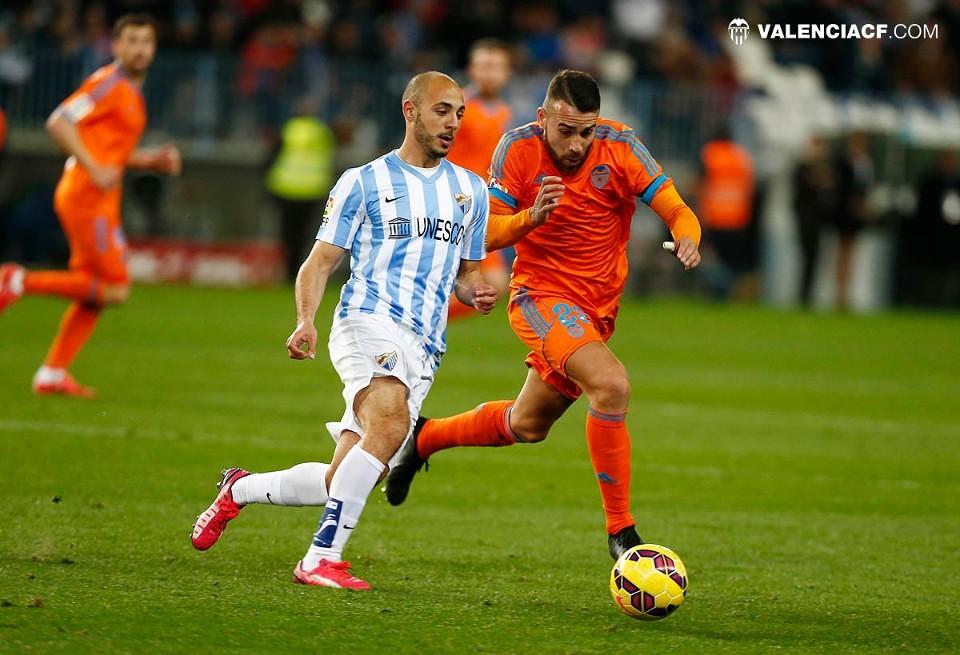 02.02.2015: Málaga CF 1 - 0 Valencia CF