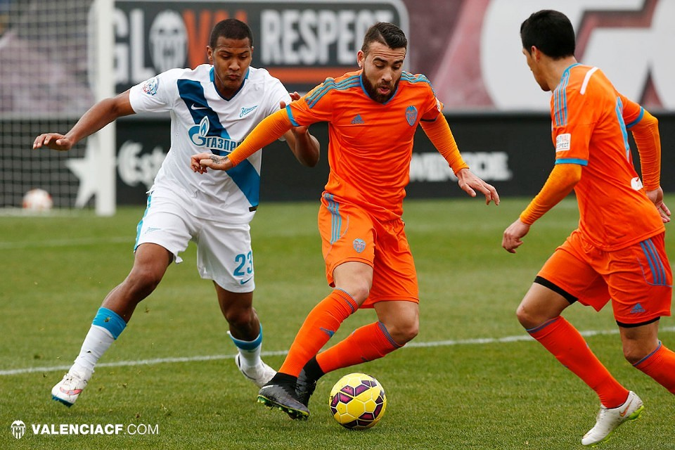 12.02.2015: Valencia CF 1 - 0 Zenit SP