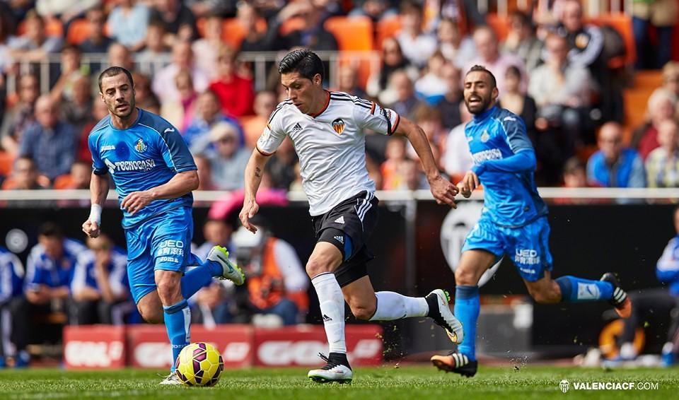 15.02.2015: Valencia CF 1 - 0 Getafe CF